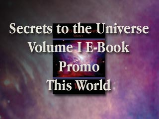 Secrets to the Universe by Wit Promo Banner This World